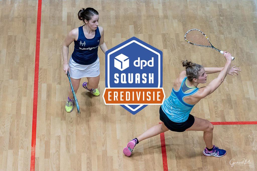 MeerSquash wint belangrijke wedstrijd in DPD Eredivisie
